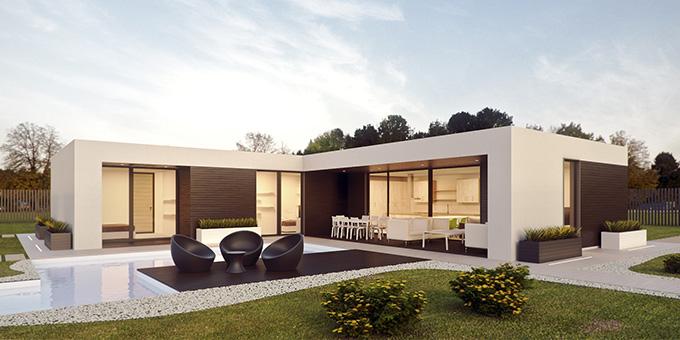 Casa modular. La Covid19 ha hecho crecer la necesidad de una construcción rápida y efectiva.