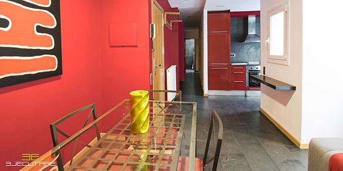 Visión general de los nuevos colores de la vivienda en Parc Güell